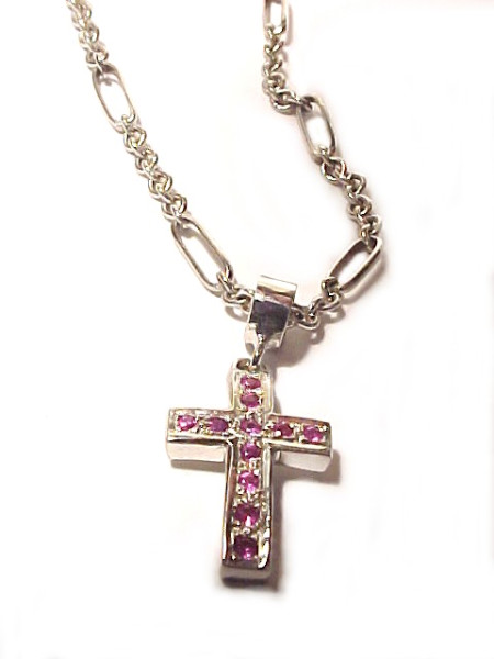 """Iconic Traditional Cross Pendant"""