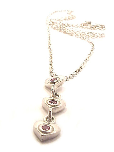 """Iconic Heart Charm Necklace"""